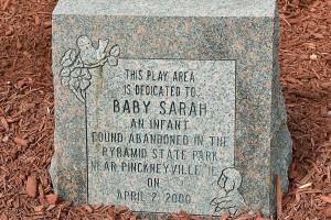 Baby Sarah Gravestone