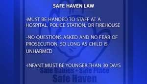 Blue Safe Haven Law