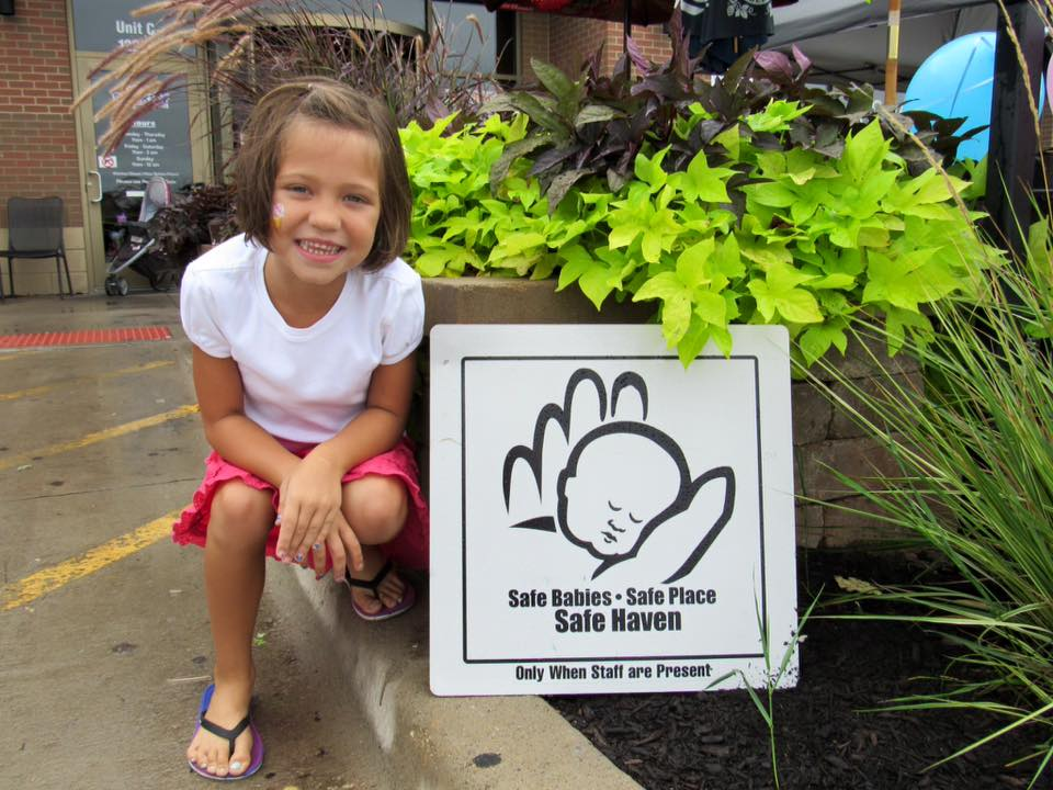 Riley safe haven sign