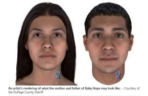 Baby Hope's parents